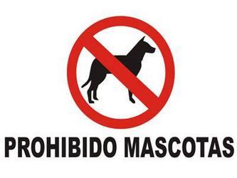 No se admiten mascotas de ningun tipo